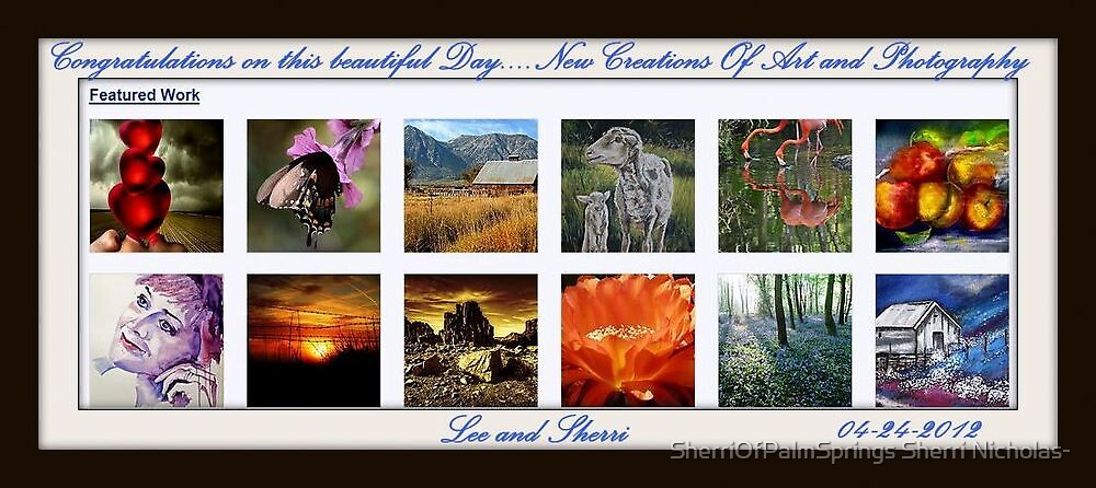 features 04-24-2012 by Sherri     Nicholas