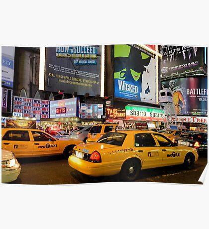 Broadway Traffic Poster