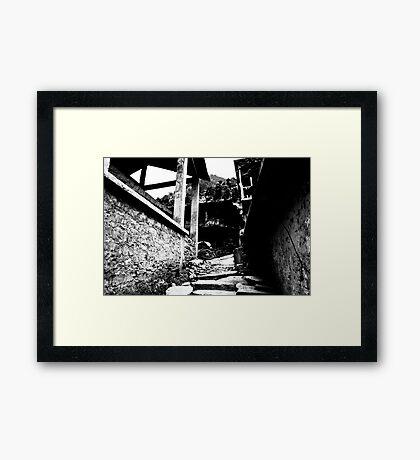 Few more steps. Framed Print