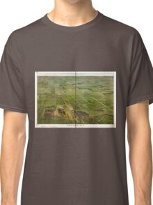 Panoramic Maps Depew NY Classic T-Shirt