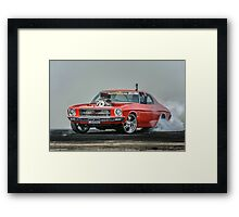 MRBADQ UBC6 Burnout Framed Print