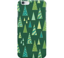 Christmas Triangles (Pattern) iPhone Case/Skin