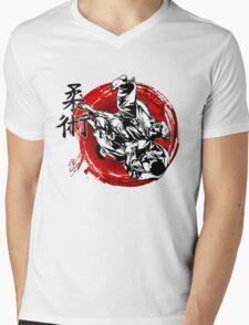 JuJitsu Mens V-Neck T-Shirt