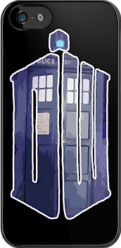 Dr Who Police Box #3 by HighDesign