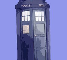 Dr Who Just a Police Box v1 by HighDesign
