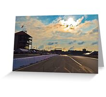 Mid Ohio Race Track Greeting Card