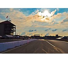 Mid Ohio Race Track Photographic Print