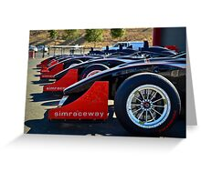 Infineon Race Track Greeting Card