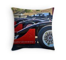 Infineon Race Track Throw Pillow