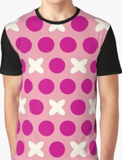 Pattern with circles and crosses Graphic T-Shirt