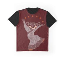 Ghost Tiger Juggler with Red Shoes Graphic T-Shirt