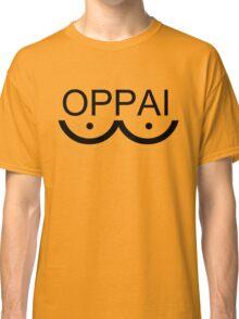 One-Punch Man Oppai Black Classic T-Shirt
