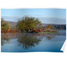 Peaceful Reflection Landscape Poster