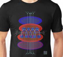 """Magnetic Flux - RED""© Unisex T-Shirt"