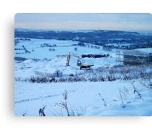 Be There Treasure In Thy Snowy Realm? Canvas Print