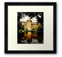 A French Chateau. Framed Print