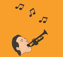 I am the trumpet man. Unisex T-Shirt