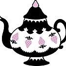 Strawberry Tea by blacklilypie