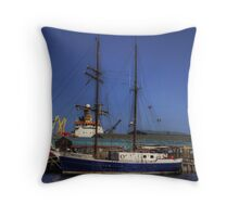 Jean de la Lune Throw Pillow