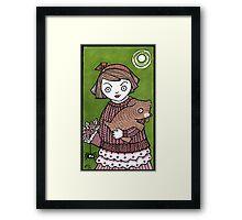 Puppy Hug Framed Print