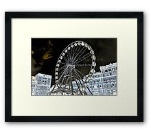 """Mystical Square"" Framed Print"