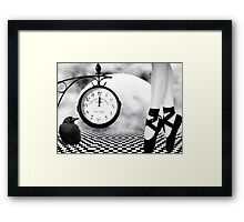 Dance As If There Were No Tomorrow... Framed Print