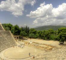 Epidavros Amphitheatre Sticker