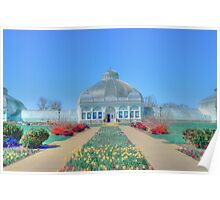 The Garden's In Spring Poster
