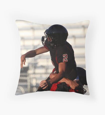 Title pending Throw Pillow