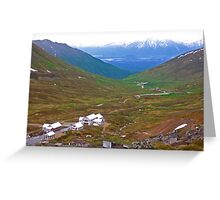 Independence mine ruins Greeting Card