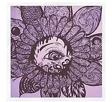 Lotus Eye Photographic Print