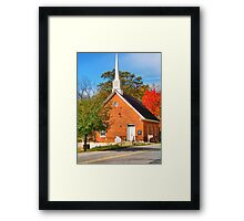Light House Christian Fellowship Church Framed Print