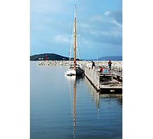 Yacht in Albany Photographic Print