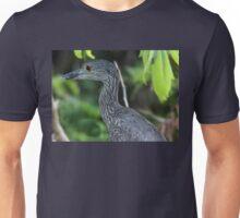 Yellow-Crowned Night Heron Closeup Unisex T-Shirt