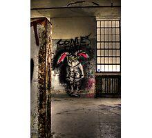 bunny-Come Take Me Photographic Print