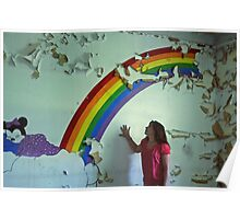 my wish upon the rainbow, Self Portrait Poster