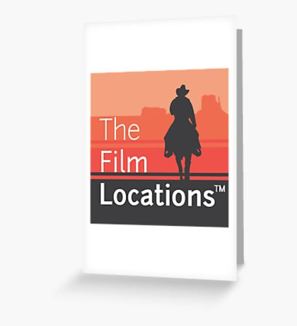 The Film Locations Greeting Card