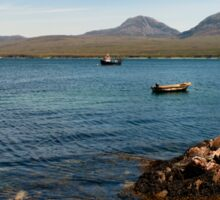 The Paps of Jura across the Sound of Islay Sticker