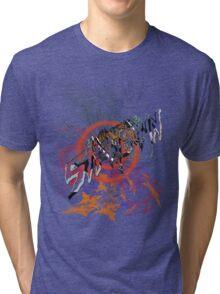helicopter showdown Tri-blend T-Shirt
