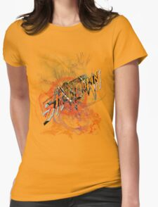 helicopter showdown Womens Fitted T-Shirt