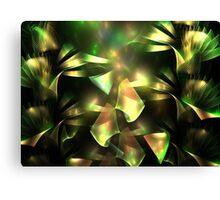 Green Hydrangea Canvas Print