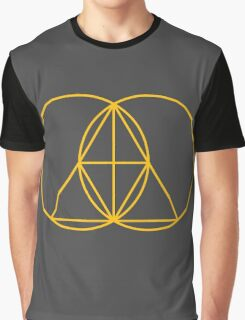 Glitch Mob - Invert Gold Graphic T-Shirt