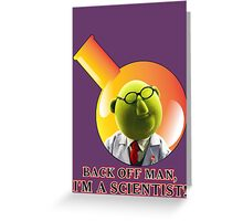 Dr. Bunsen Honeydew. Greeting Card