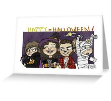 spooky...or nah. Greeting Card