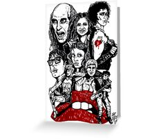 Rocky Horror Picture Show Greeting Card