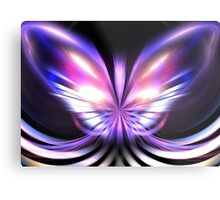 Lilac Wings Metal Print