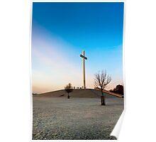 Phoenix Park Chistian Cross - Papal Cross in Dublin Ireland Poster