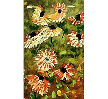 Wild Flowers, watercolor Photographic Print