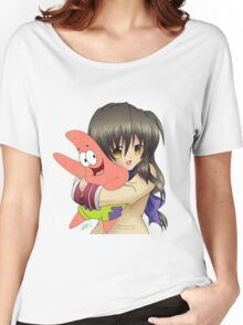 Can Fuko Has Starfish? Women's Relaxed Fit T-Shirt