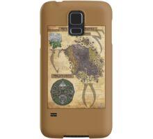 Morrowind The Elder Scrolls Map Samsung Galaxy Case/Skin